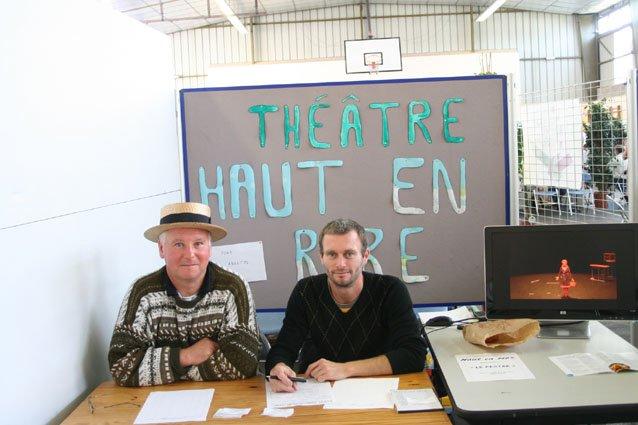 le secrétaire: Bernard et le Trésorier: Yann
